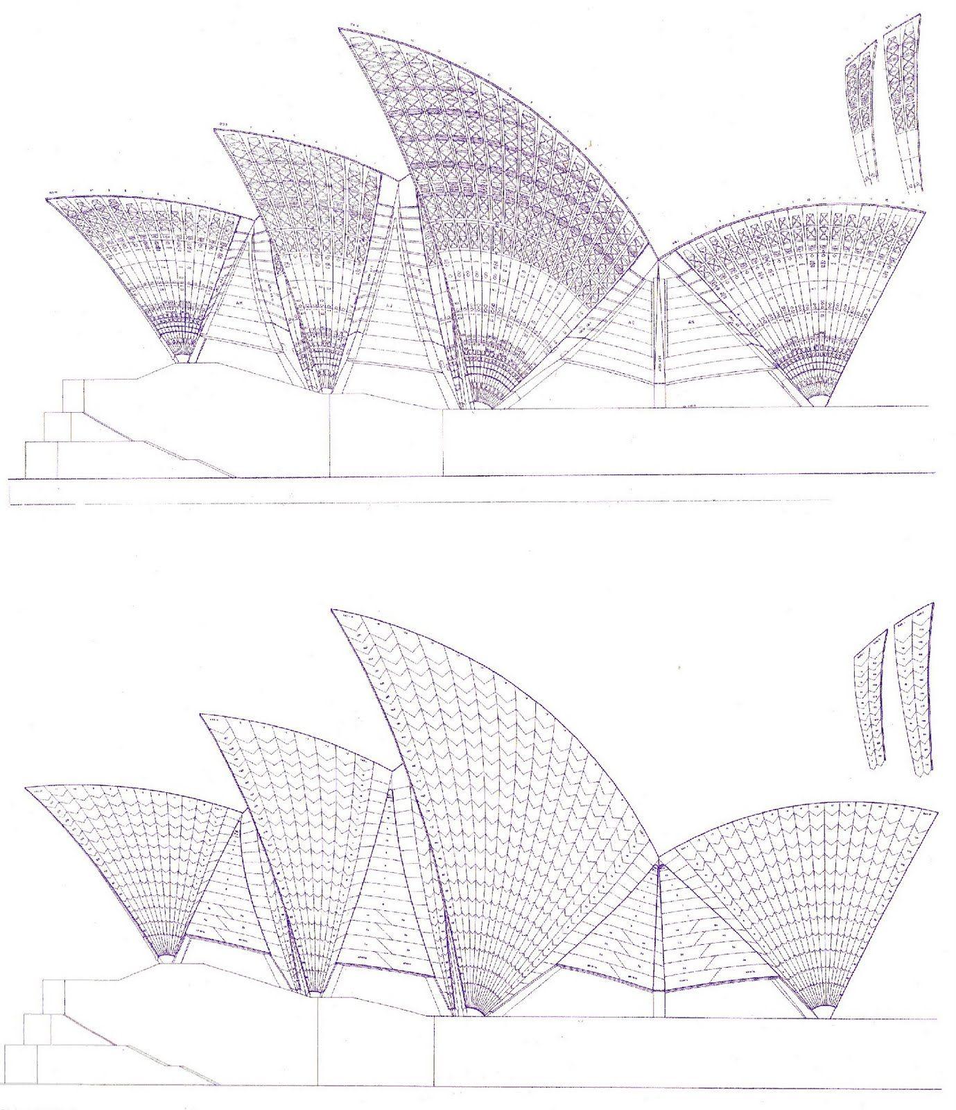 Des Plans De L Opera De Sydney