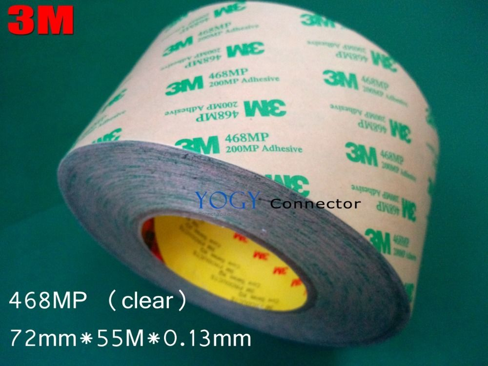 3m 468mp 72mm 55m 0 13mm 200mp Double Sided Adhesive Tape High Temperature Withs Double Sided Adhesive Tape Double Sided Sticky Tape Double Sided Adhesive