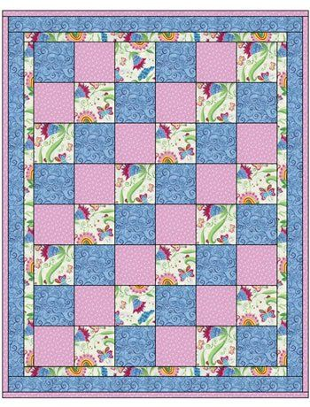 quilt patterns with 3 fabrics   Google Search. It is a bit sugar