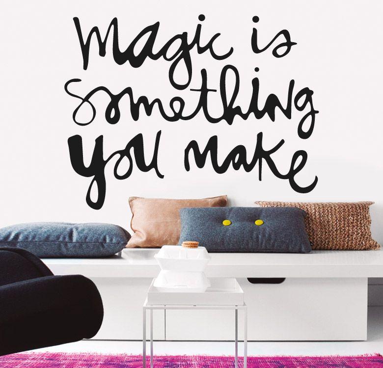 Magic for Stickers decorativos pared