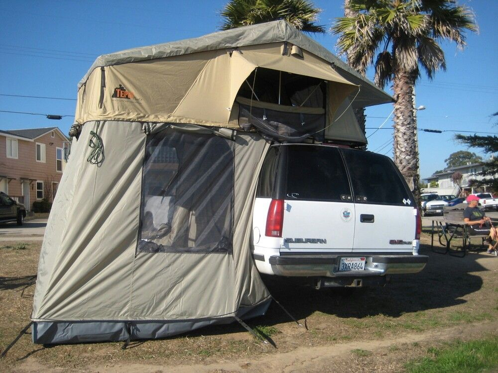 Pin by Pete Ellis on 2dr Tahoe Build Tepui tent, Roof