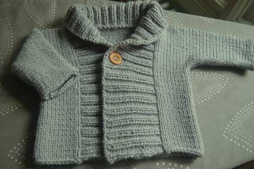 8b6ab7082a2 Ribbed Baby Jacket - link to FREE pattern!! - KNITTING | knitting ...