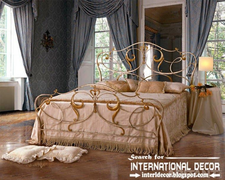 Classic Italian Wrought Iron Beds And Headboards 2015 Golden