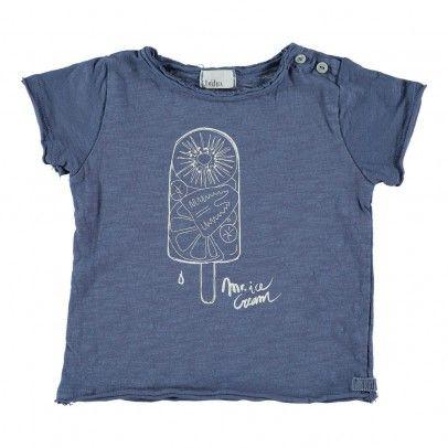 T-shirt Sorbet Cesar Bleu indigo  Buho