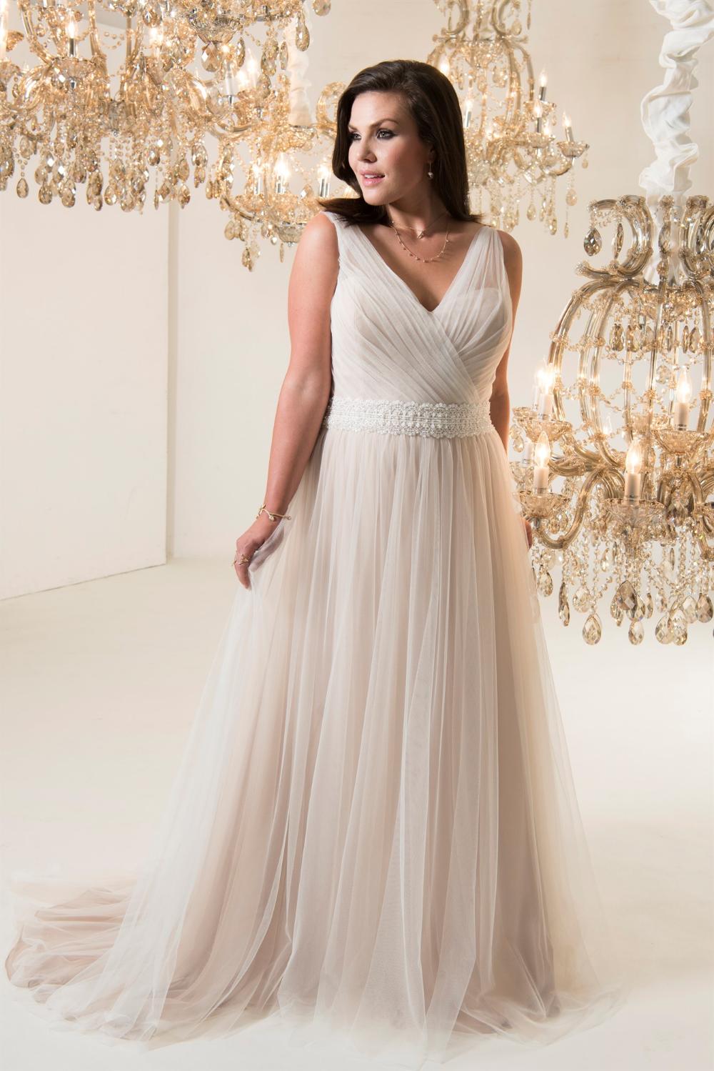 Plus Size Wedding Dresses Stratford Callista Botticelli   Agbridal ...