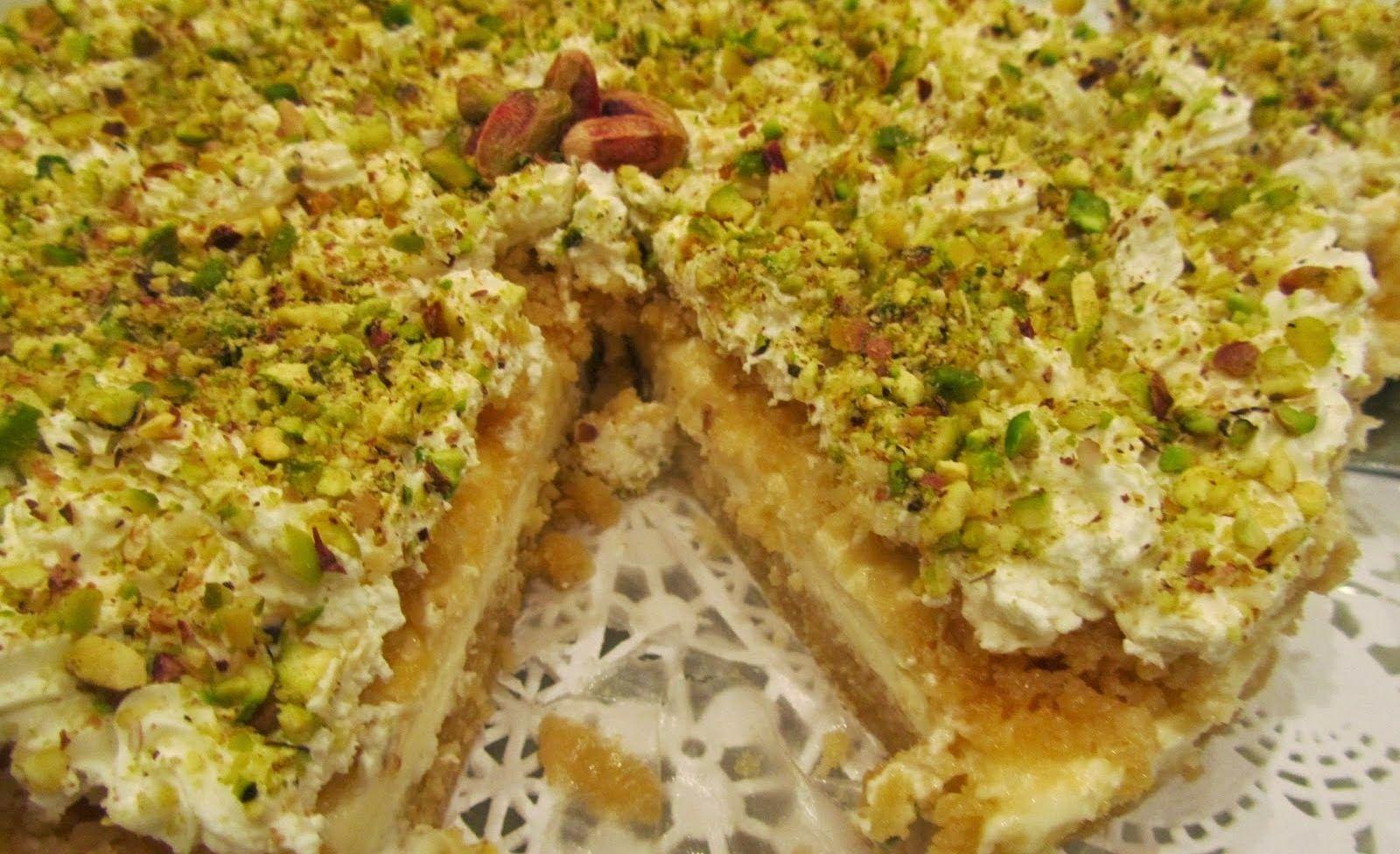 طريقة عمل حلى عيش السرايا بالسميد وبدون السميد عالم الطبخ والجمال Delicious Deserts Cooking Recipes Egyptian Food