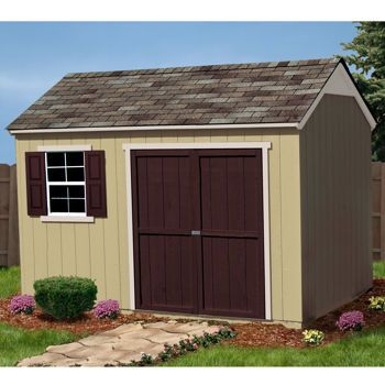 A Costco 12X8 Wood Shed Shed Storage Shed Wood Shed 400 x 300