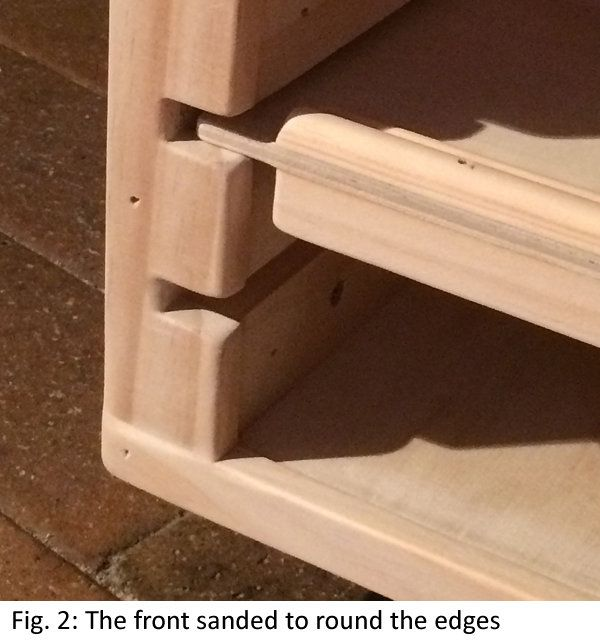 Building A Flat File Paper Storage Cabinet Part 2 Sanding And