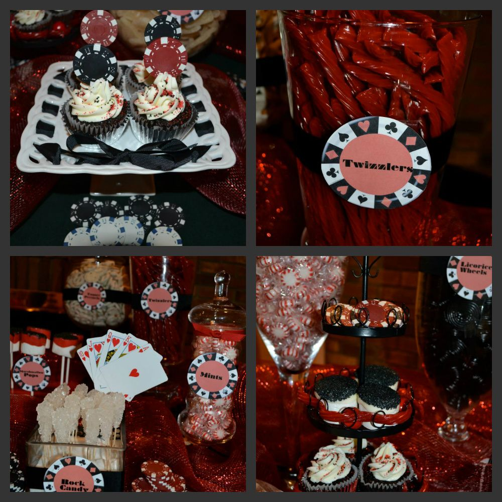 50th Birthday Casino Party By 24 Carat