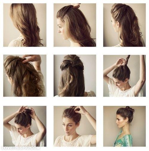 Pin De Shy Gray Em Bridesmaid Hair Hair Hair Penteados Tutoriais De Cabelo
