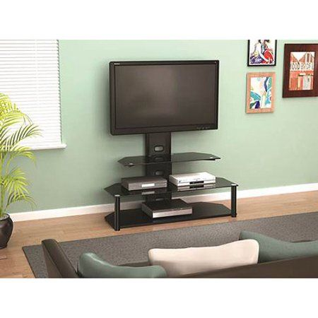 Z Line Designs Lucia Television Stand With Mount For Tvs Up To 55
