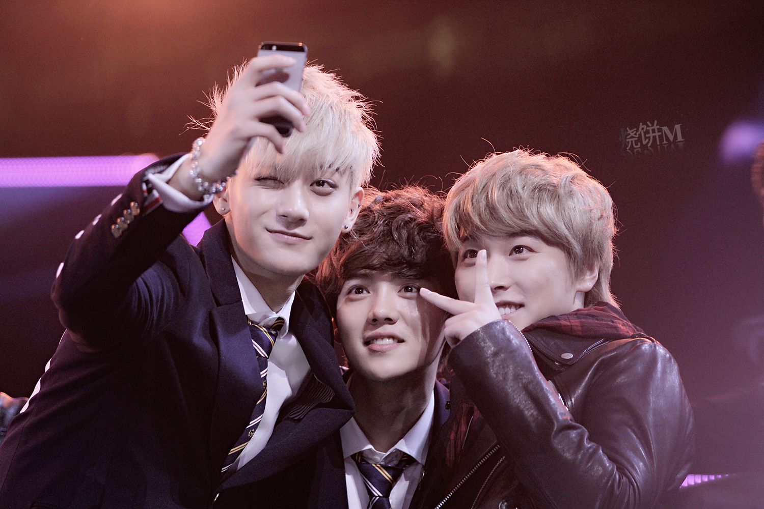 Tao, Luhan and Sungmin - Dragon TV New Year's Eve Show