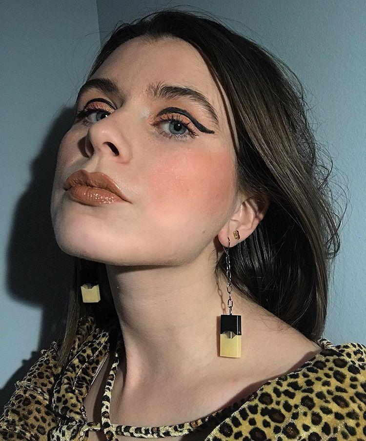 juul pod earrings etsy com/shop/femmeetrange | La mode in