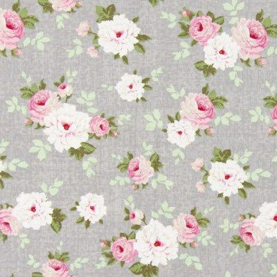 Fabric Tilda Pernille Lin Grey Fat Quarter by ValiCePortugal