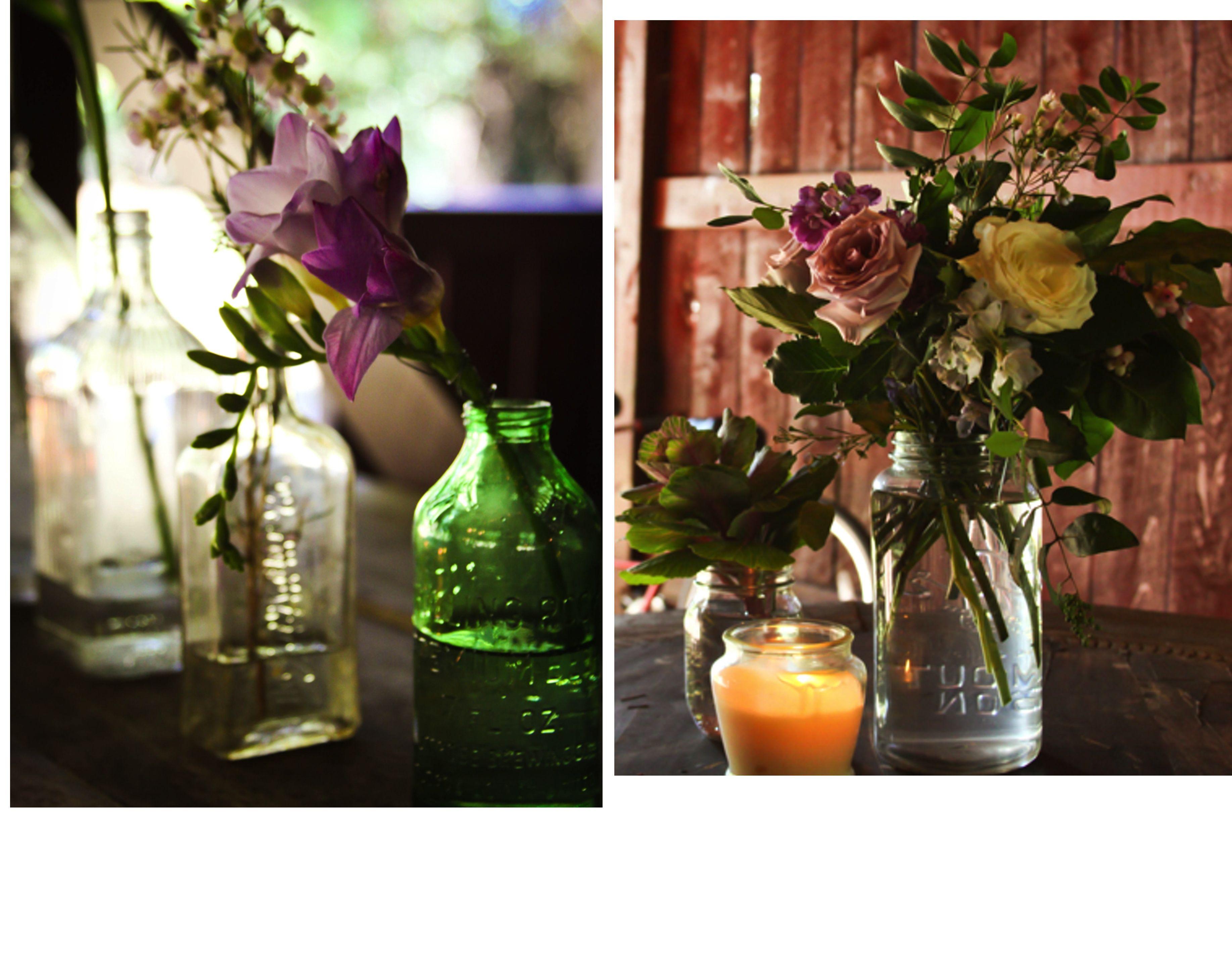 Fresh feminine babys breath wildflowers wedding