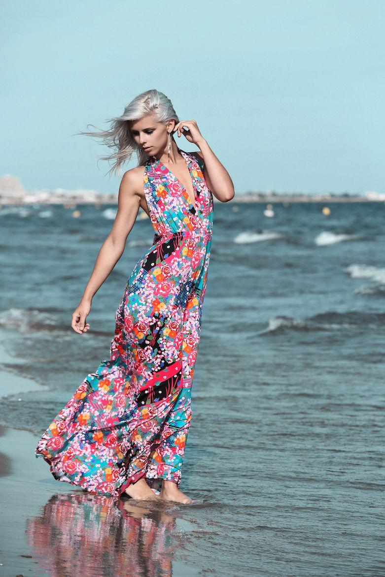 Mademoiselle Amélia vous propose dans sa nouvelle collection 2016, robe dos nu deux en un