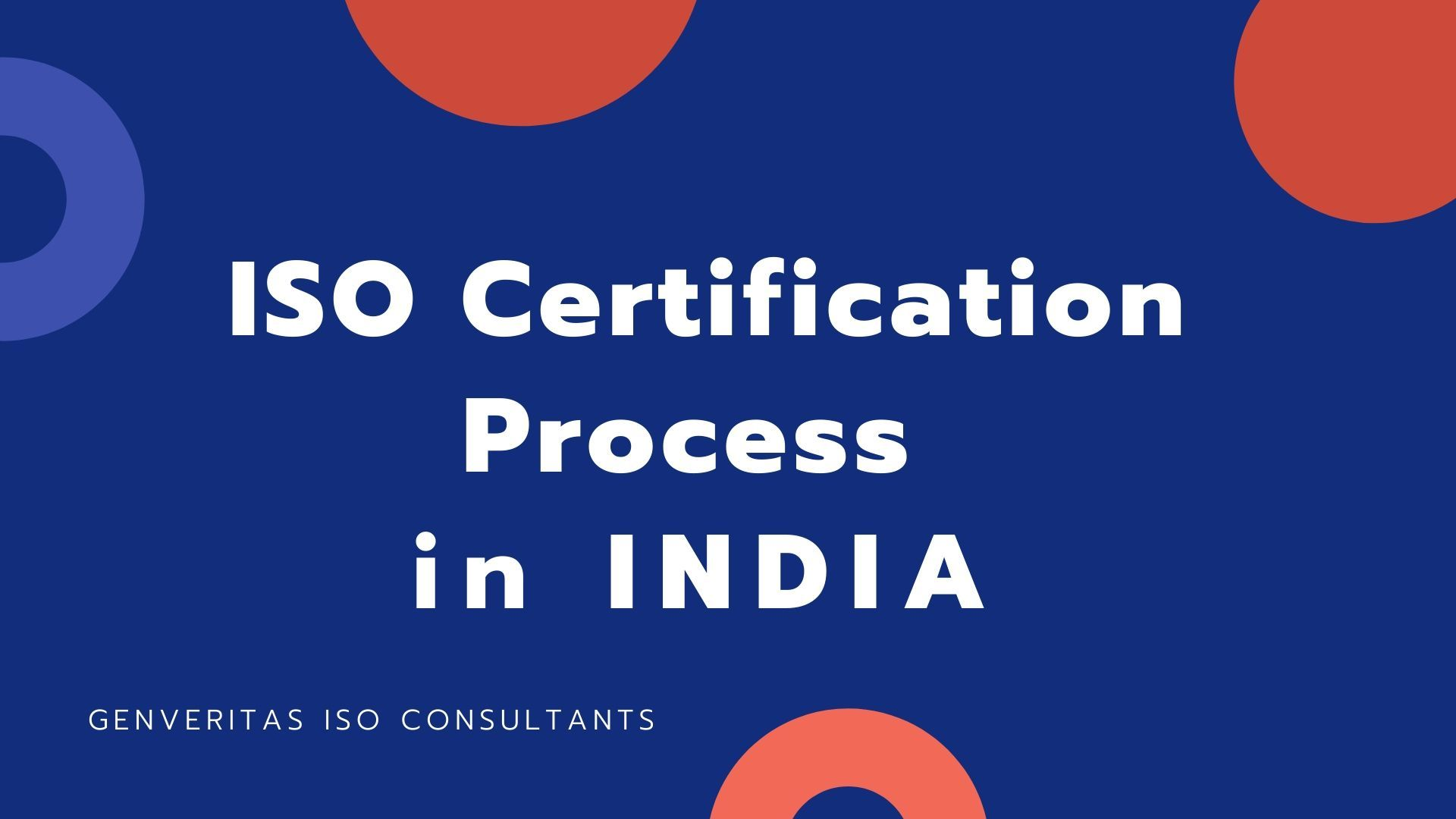 Process of ISO Certification in India in 2020
