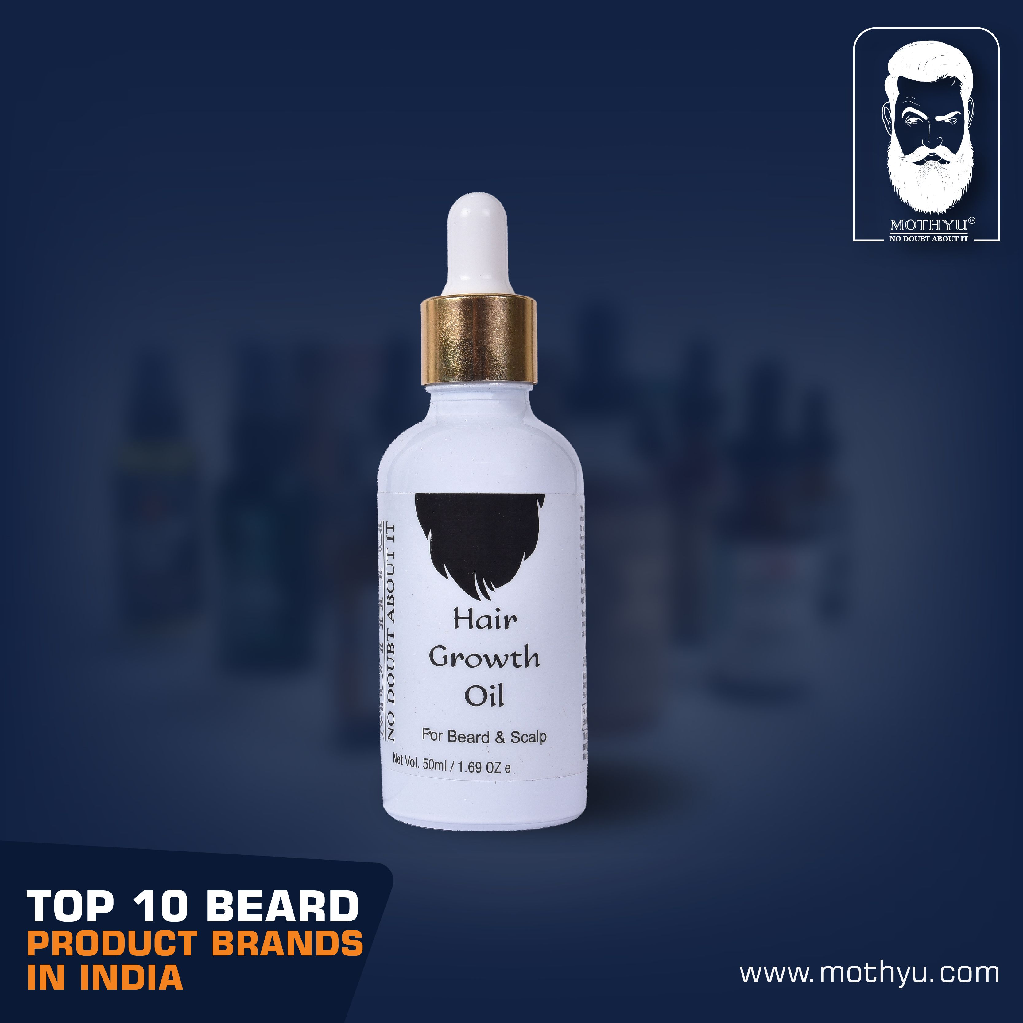 Beard products are great to keep a soft and shiny beard  To