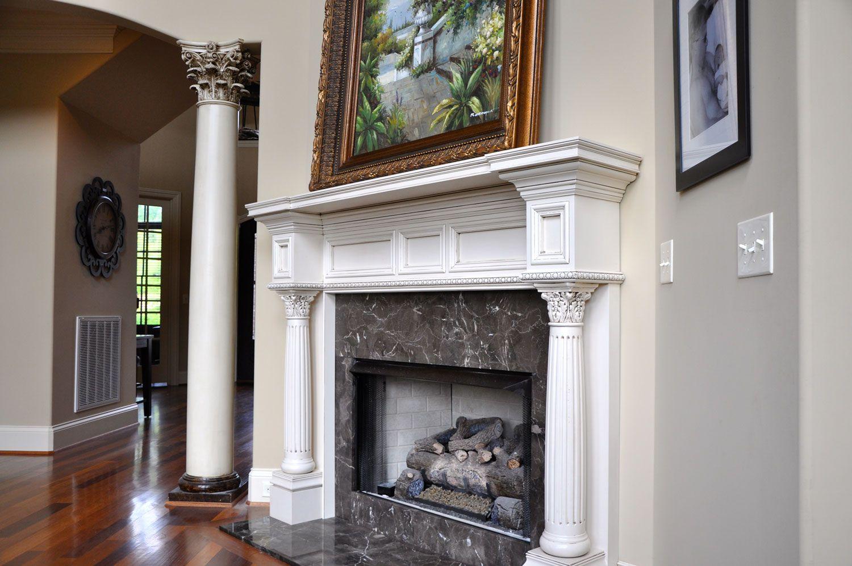 Fireplace Mantels Custom Fireplace Classic Mantels Garden Mantels