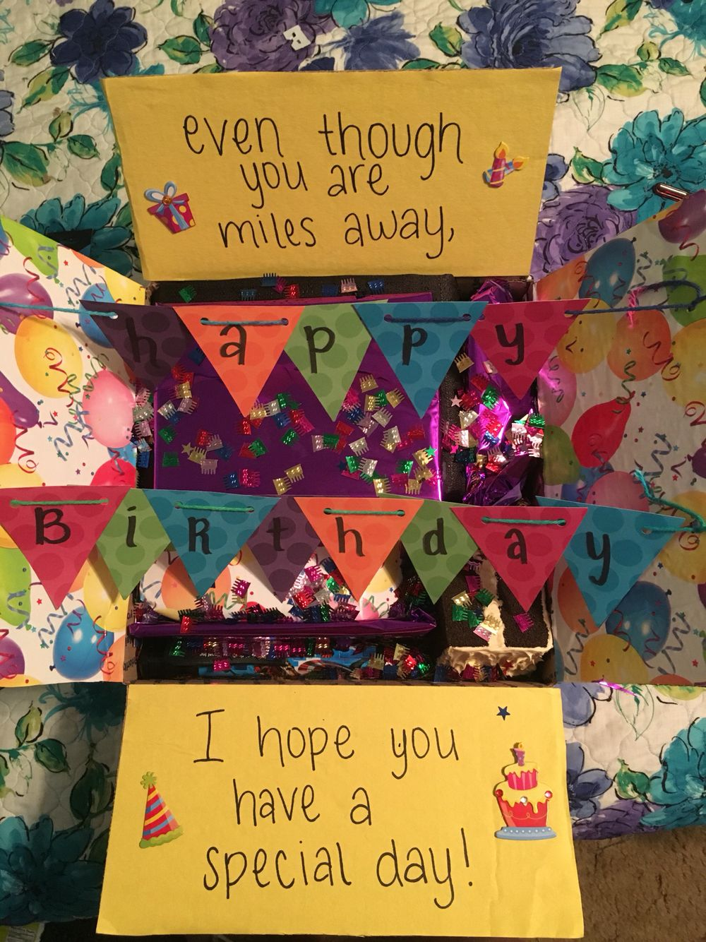 Happy Birthday Care Package More Ideas For