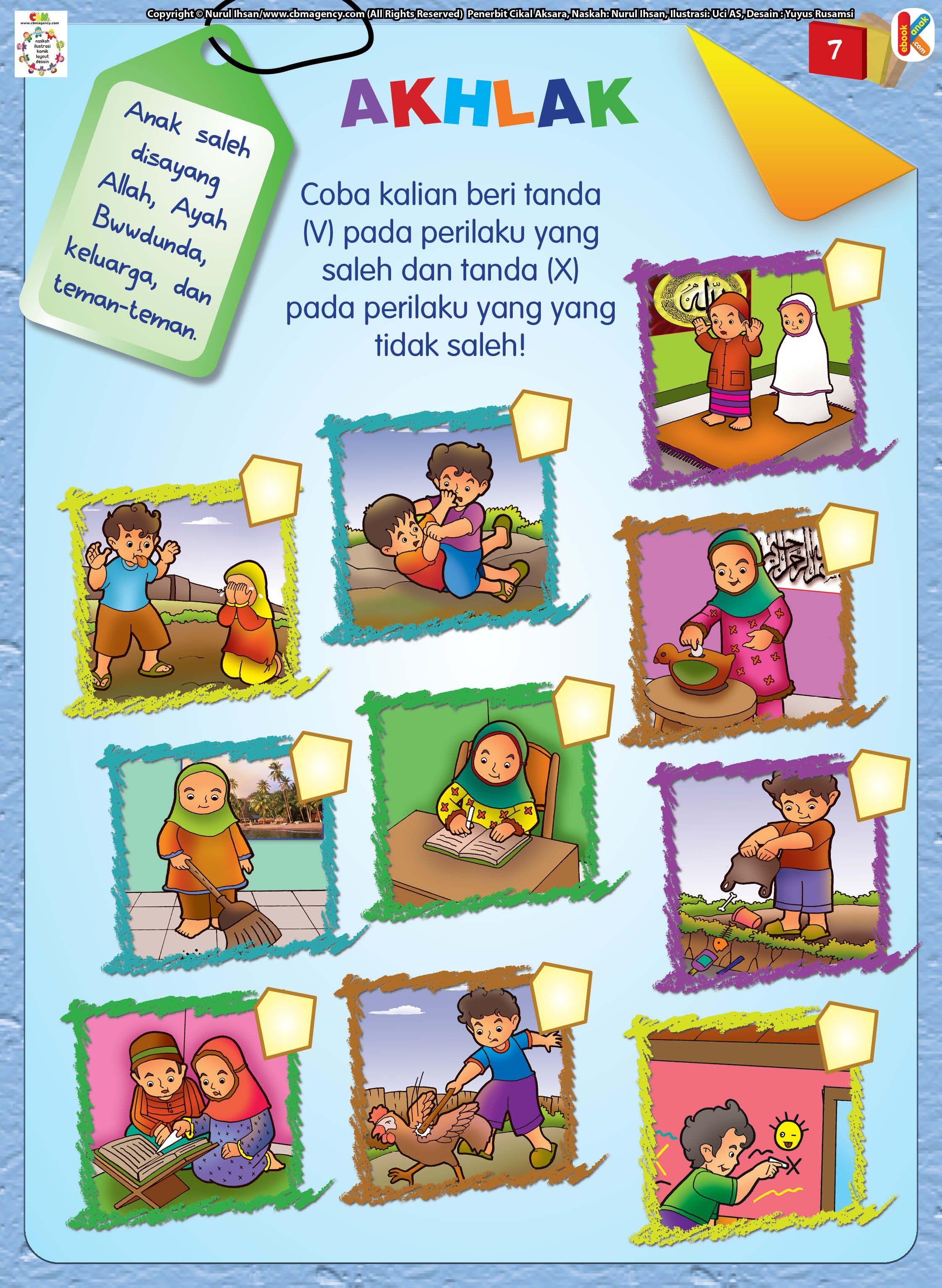 Mengenal Akhlak Anak Muslim