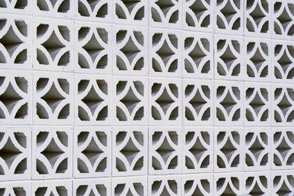 How To Seal Block Walls To Prevent Water Ehow Decorative Concrete Blocks Concrete Blocks Concrete Block Retaining Wall