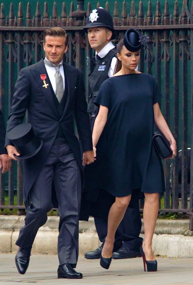<p>Nearly 2,000 people were crammed in to watch the ceremony, with nobles and dignitaries sharing air with celebs like David and Victoria Beckham. </p>