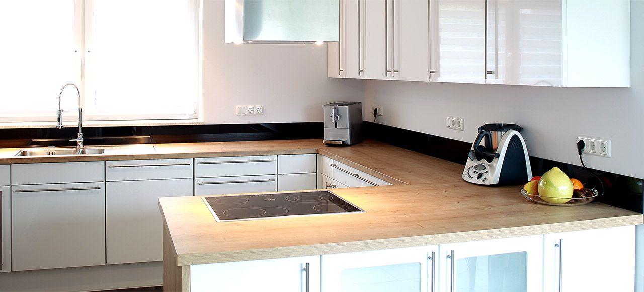 moderne küche u-form | schlossreitstall