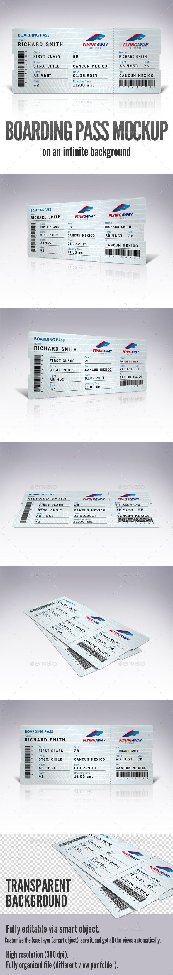 Print Mockup - Boarding Pass Mockup - Print Mockup by doghead.  #WebElements #Logo #TuesdayWisdom #UIUX #Graphic  #TuesdayThoughts #DesignTemplate #CyberMonday #UserInterface #TuesdayMotivation #HappyTuesday #Vectors #BlackFriday #PresentationTemplate#TuesdayFeeling