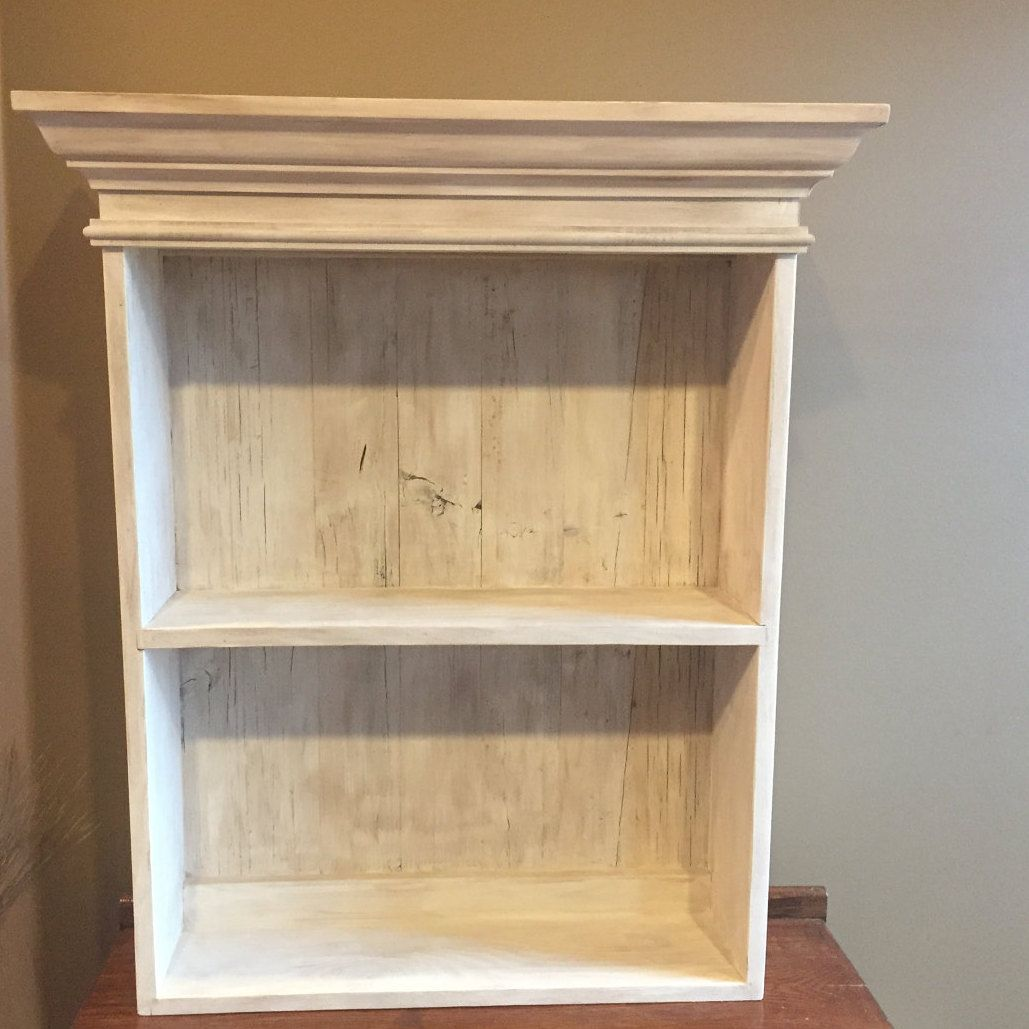 Distressed White Cabinet Bathroom Cabinet Kitchen Cabinet Hanging Wall Cabinet Shabby Chich Ca Shabby Chic Cabinet Shabby Chic Dresser Shabby Chic Bathroom