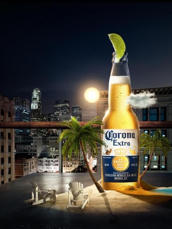 """Corona has been inviting it's consumers to find their """"beach"""" while drinking Corona's for a while now.  This ad brings the beach to the city where most people reside.  It's meant to appeal to those that want to take a mini break while drinking a Corona."""