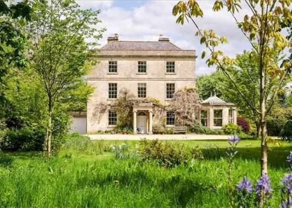 And On A Slightly Grander Scale Potticks House Near Bath An