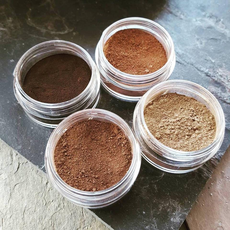 Eyebrow Mineral Powder Vegan Organic Mineral Makeup For Eyes