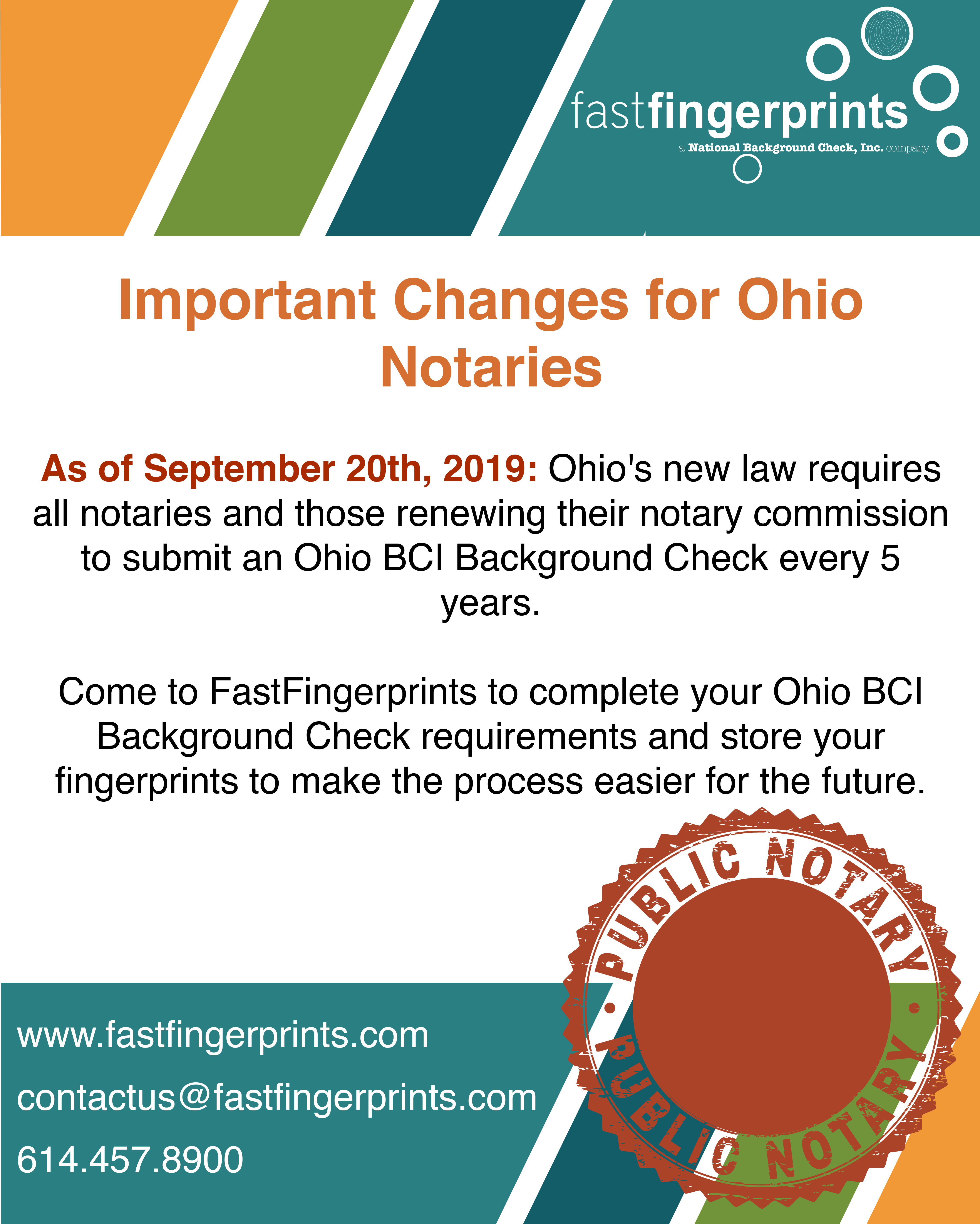 Important Changes For Ohio Notaries Background Check Ohio Home Health Care