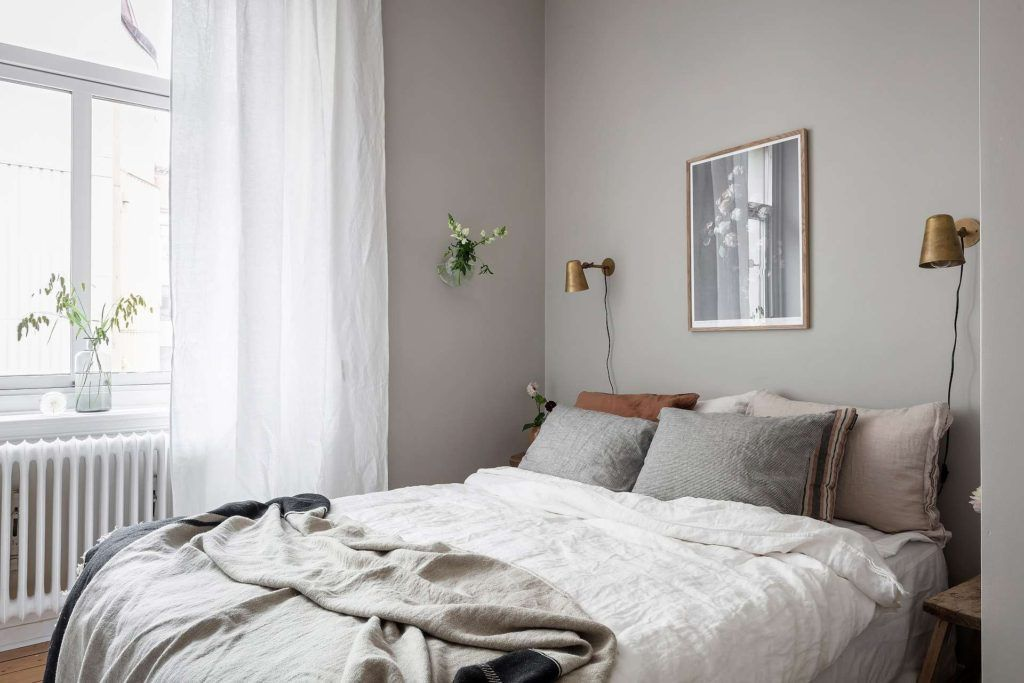Grey Bedroom With Warm Details Coco Lapine Design Gray Bedroom Walls Grey Bedroom Light Gray Bedroom