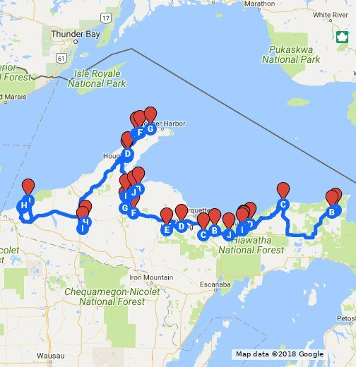 Places To Visit On Lake Michigan In Wisconsin: I Put This Map Together To Showcase The Best And Most