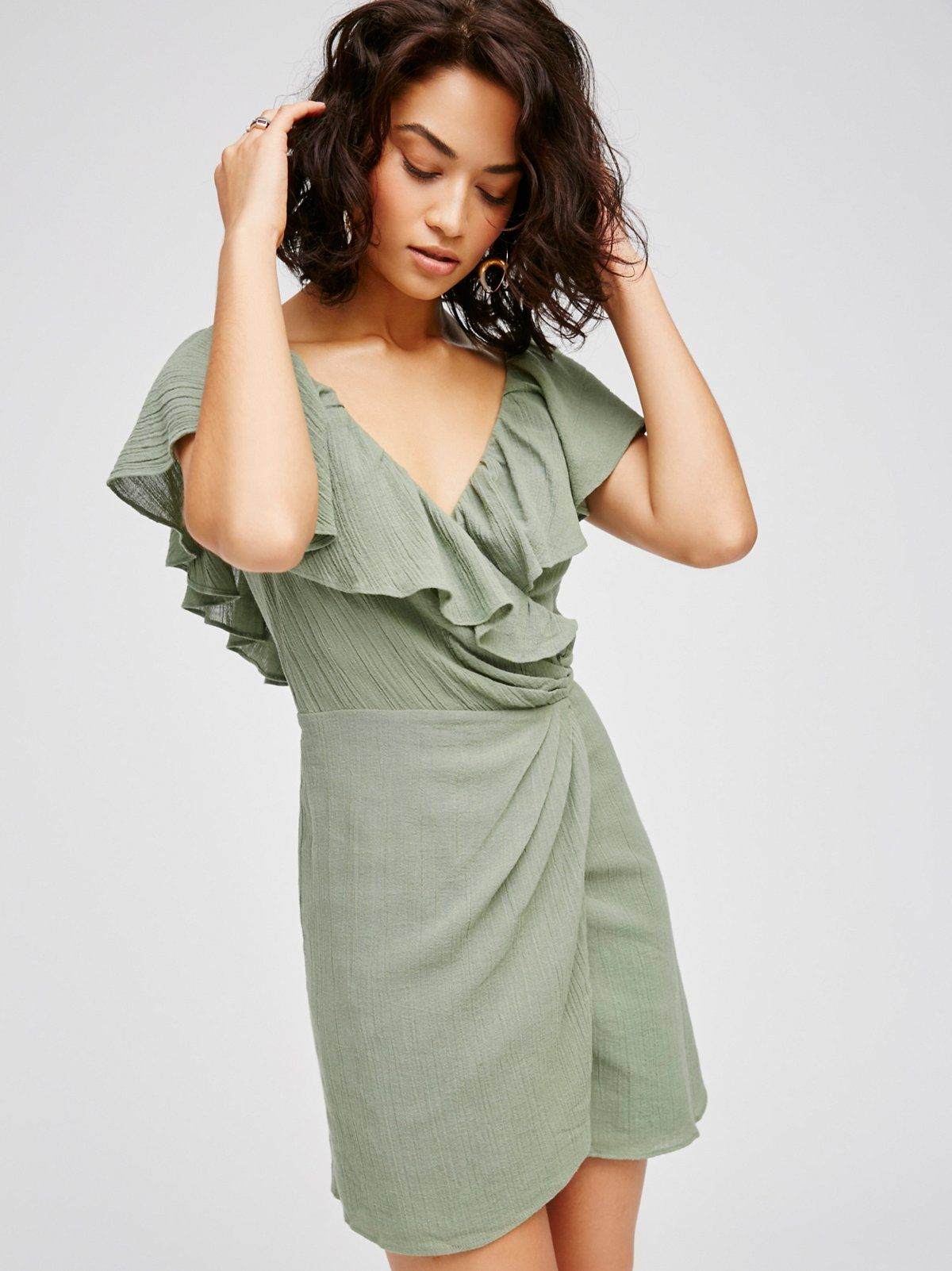 97985ab55b ... Free People. Bali Dreamin' Mini Dress | Made from our sheer and gauzy  Endless Summer fabric, this cotton mini features pretty ruffle details  cascading ...