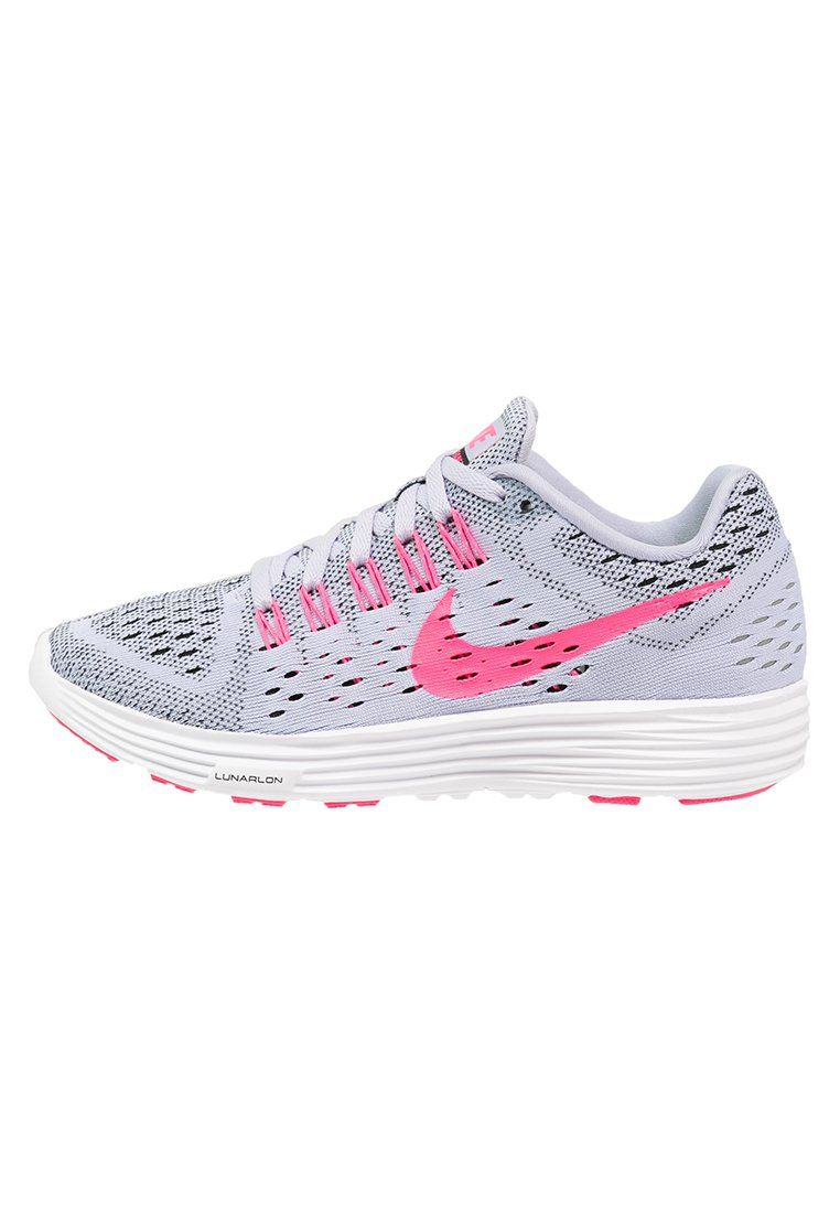 sale retailer 5fa9a 252c8 Zapatillas · Calzado Nike · Nike Performance LUNARTEMPO - Sneaker -  titanium pink pow black white - Zalando
