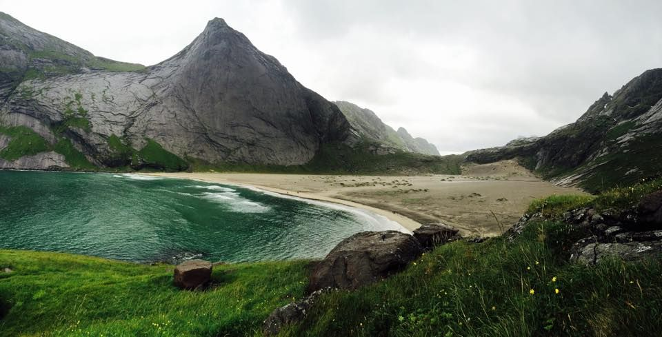 Bunes Beach, Lofoten islands, Norway
