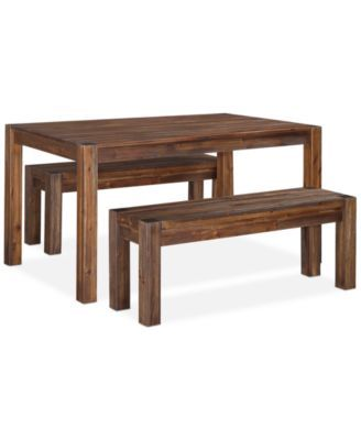 Avondale 3 Pc Dining Room Set Created For Macy S 60 Table 2