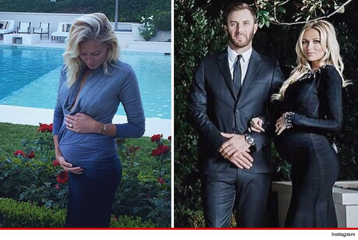 Paulina Gretzky Squeezes Out The Next Great One Births First Child Paulina Gretzky Celebrity Entertainment Celebrity Kids