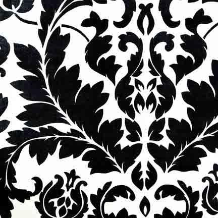 Tablecloth, Italia Black On White