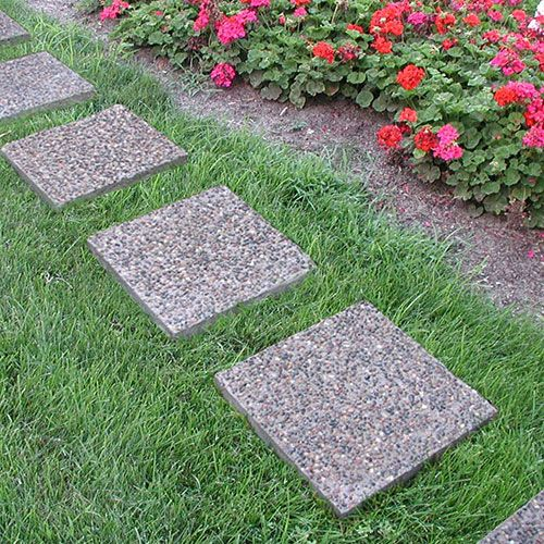 Aggregate U0026 Stone Patios | Exposed Aggregate Square   Patio Block   Country  Stone