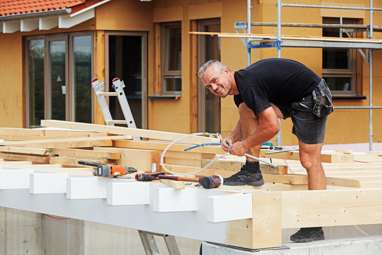 Eigenleistung beim Hausbau Sparpotenzial Haus bauen