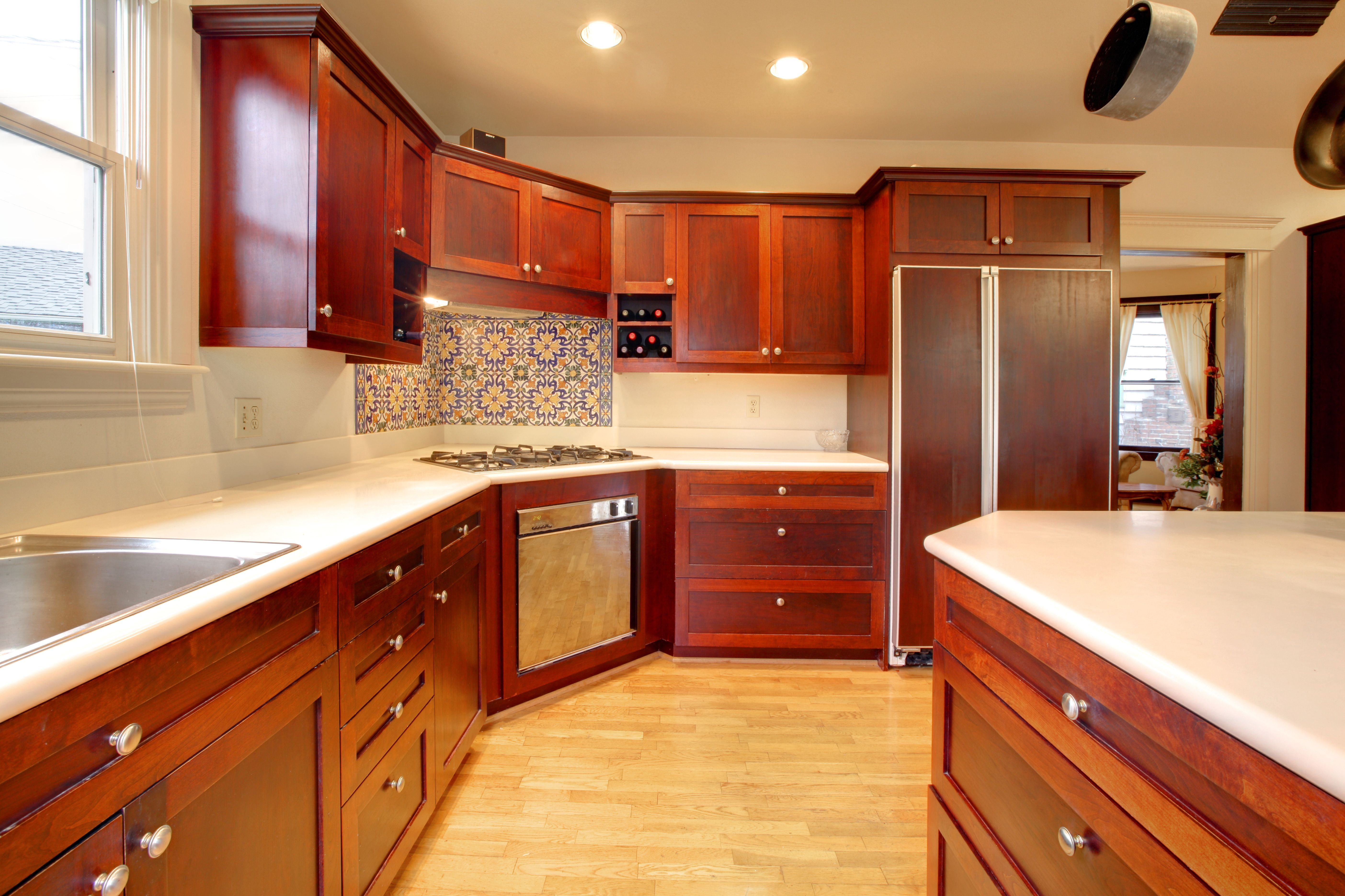 Best Mahogany Kitchen Cabinets Thomasville Kitchen Cabinets 400 x 300