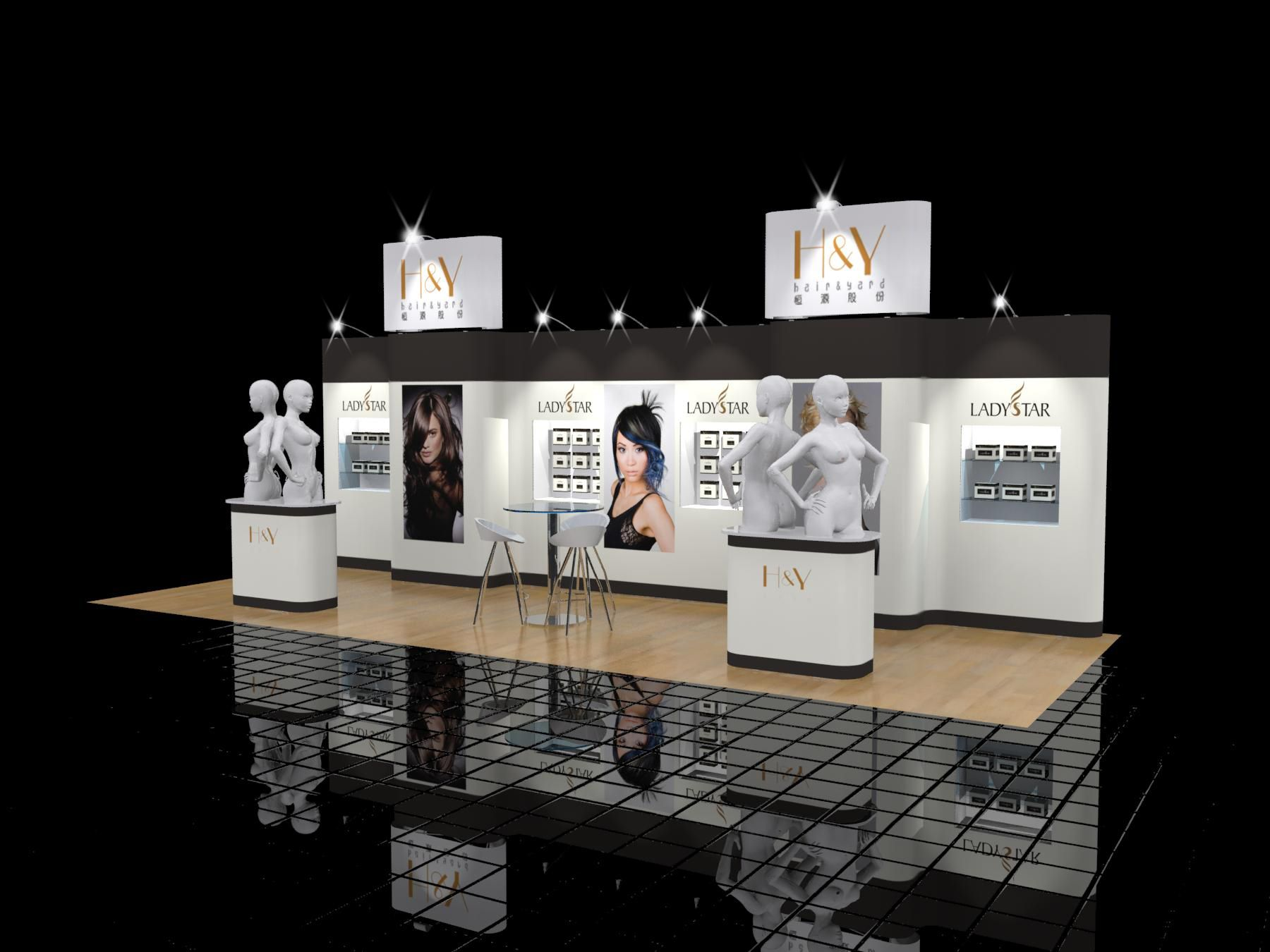 Beauty Expo Stands : Prestige exhibition stand design activation booth
