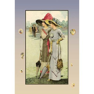 Buyenlarge Ladies And Gentlemen Painting Print Wayfair Painting Prints Framed Poster Print Canvas Giclee