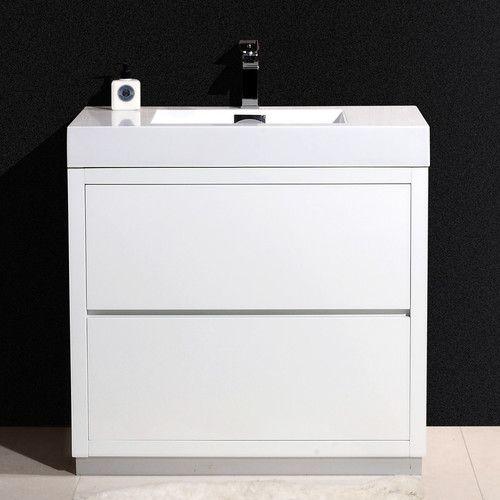 "Found It At Wayfairca  Bliss 30"" Single Free Standing Modern Captivating Designer Bathroom Cabinet Design Inspiration"