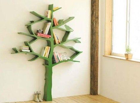 Tree book shelving