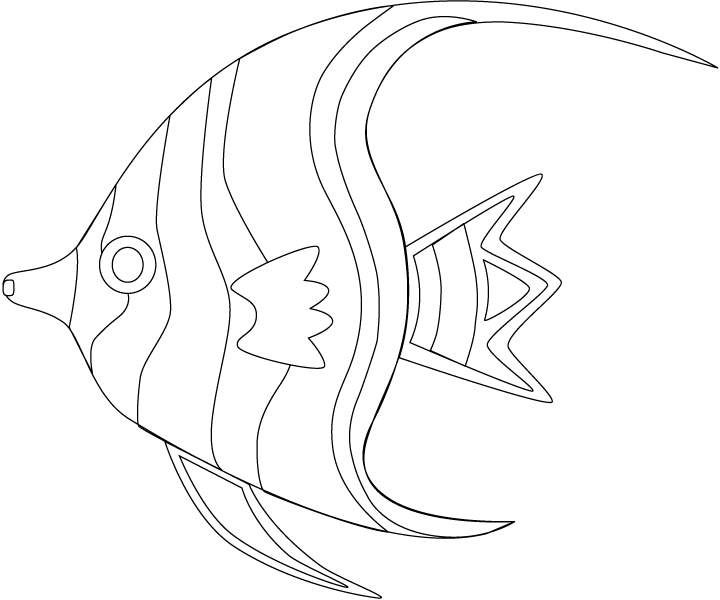 Sea Fish coloring pages | ... at january 5 2012 animal coloring ...